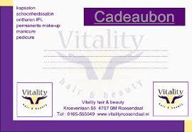 Vitality Cadeaubon